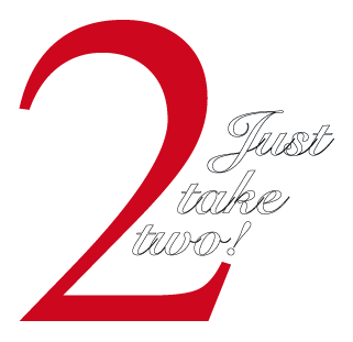Just take two Logo